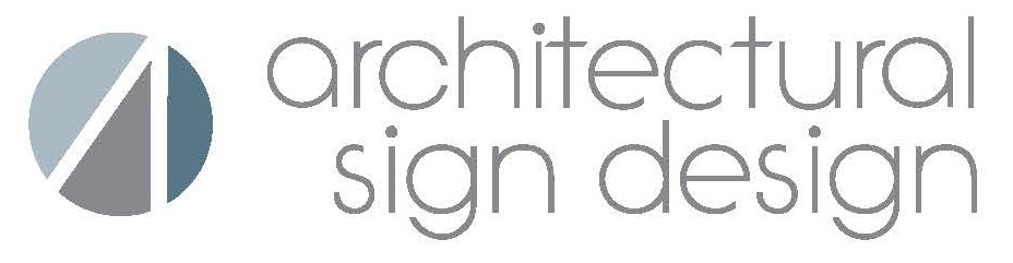Architectural Sign Design