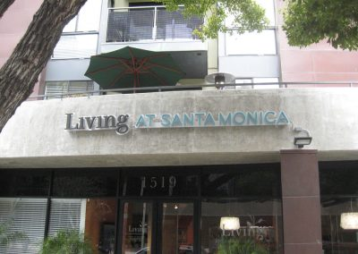 Living at Santa Monica